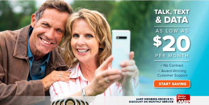 consumer cellular aarp cell phone plans